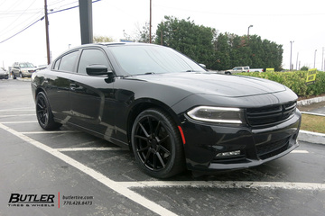 Dodge Charger with 20in TSW Chrono Wheels