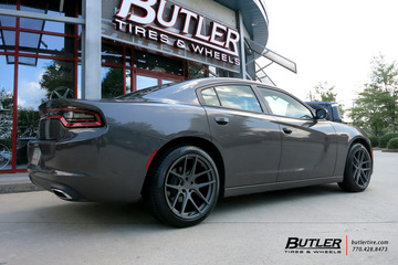 Dodge Charger with 20in TSW Geneva Wheels
