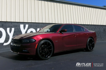 Dodge Charger with 22in Lexani Gravity Wheels