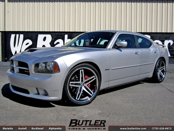 Dodge Charger with 22in Lexani R-Five Wheels
