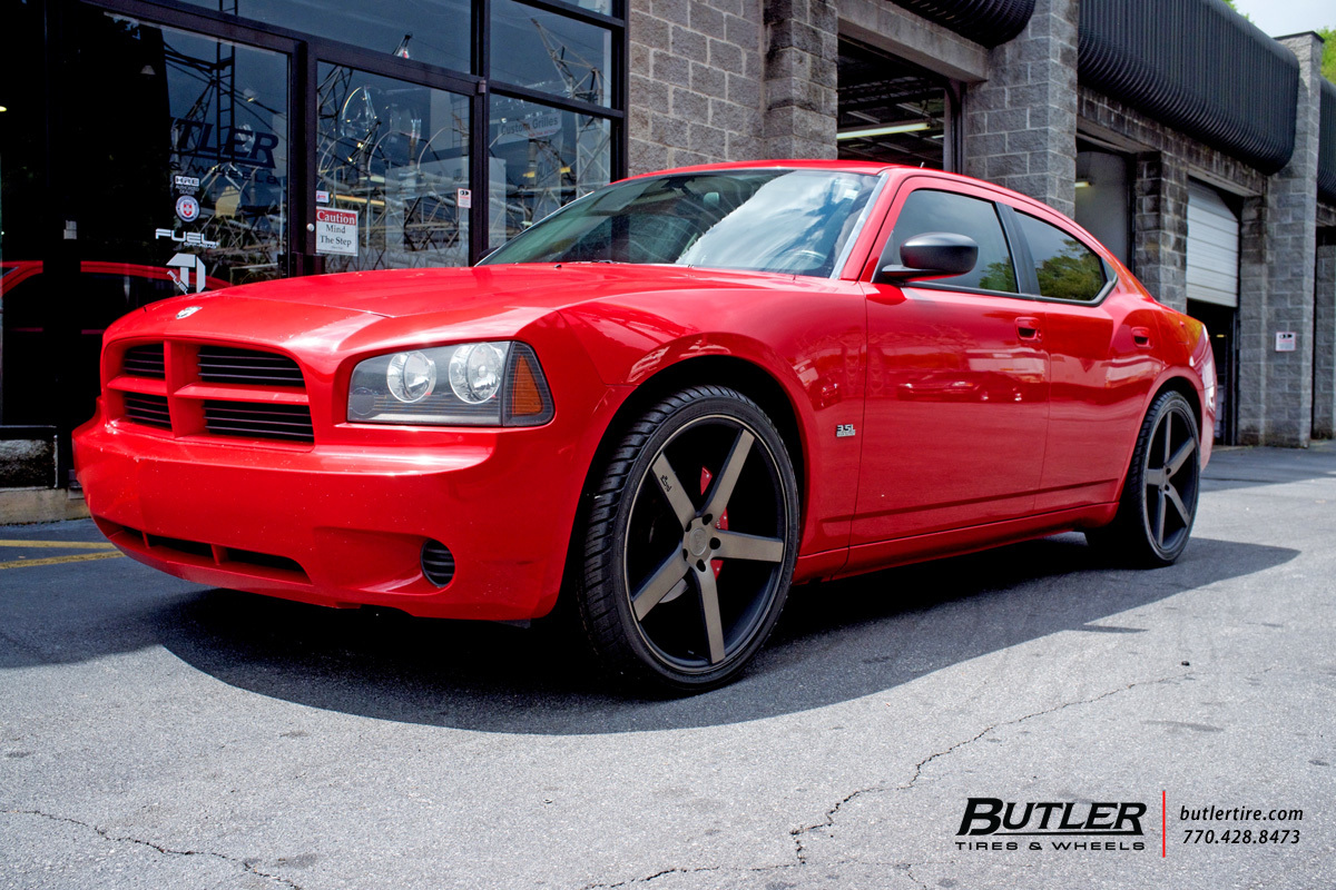Dodge Charger with 22in Niche Milan Wheels
