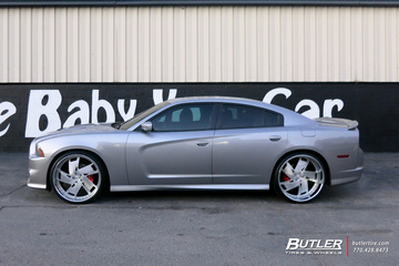 Dodge Charger with 24in DUB Hypa Wheels
