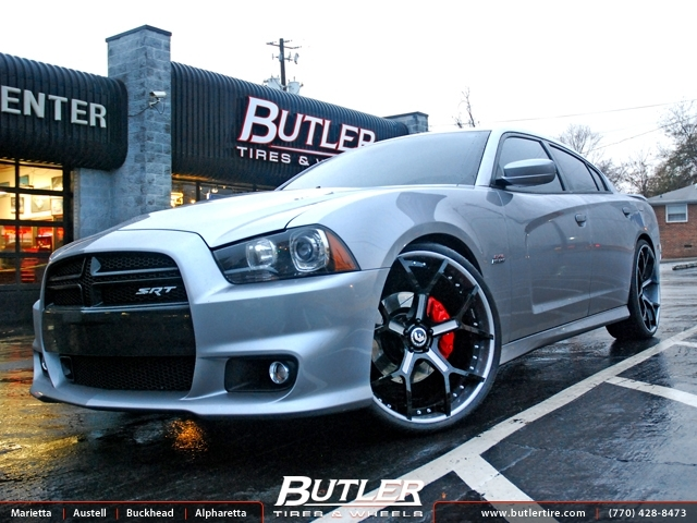 Dodge Charger with 24in Forgiato GTR Wheels