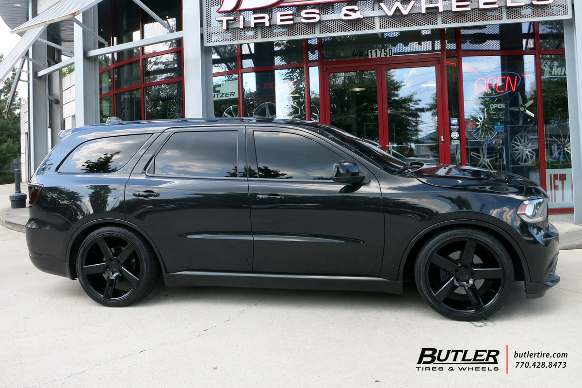 Rt 22 Honda >> Dodge Durango with 22in Niche Milan Wheels exclusively from Butler Tires and Wheels in Atlanta ...
