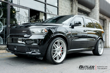 Dodge Durango with 24in Forgiato Pinzette Wheels