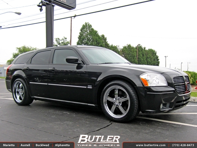Nissan Of Huntington >> Dodge Magnum with 20in Huntington Bolsa Wheels exclusively ...