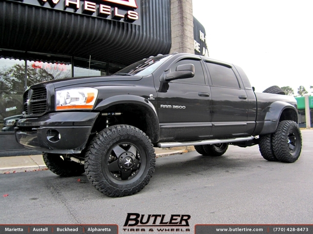 Dodge Ram With 17in Xd Rockstar Wheels Exclusively From