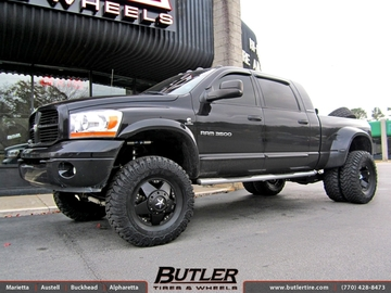 Dodge Ram with 17in XD Rockstar Wheels