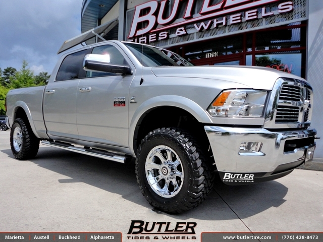 Dodge Ram with 18in ATX Ledge Wheels