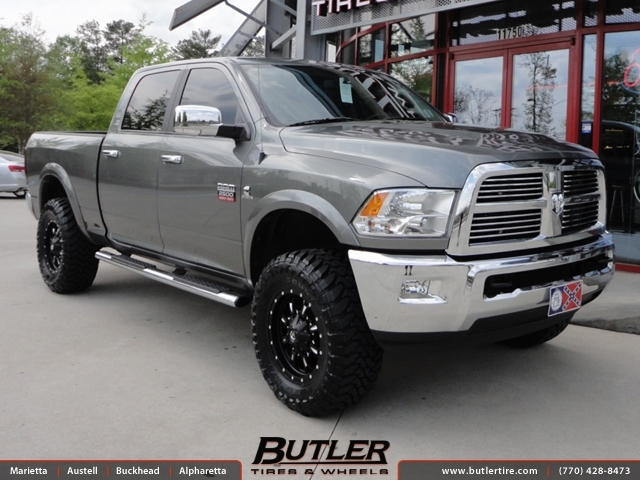 2017 Ram 1500 Leveling Kit >> Dodge Ram with 18in Fuel Krank Wheels exclusively from ...