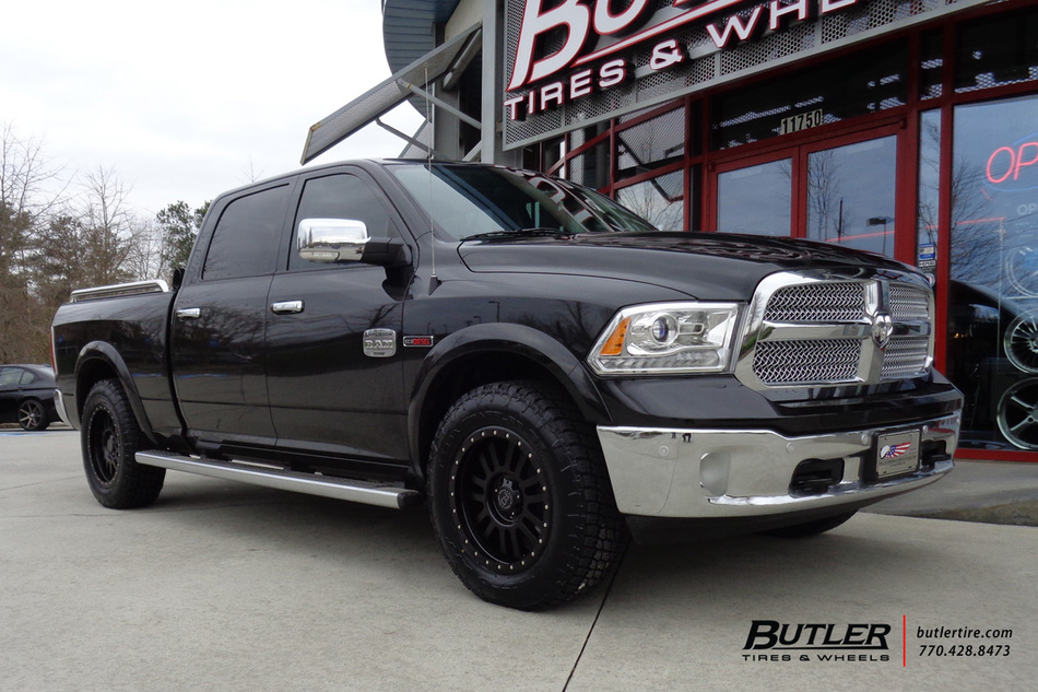 Dodge Ram With 20in Black Rhino El Cajon Wheels