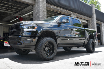 Dodge Ram with 20in Black Rhino Fury Wheels