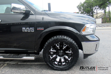Dodge Ram with 20in Black Rhino Pinatubo Wheels