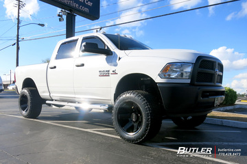 Dodge Ram with 20in Black Rhino Raze Wheels