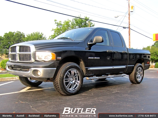 Dodge Ram with 20in Black Rhino Serengeti Wheels