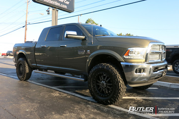 Dodge Ram with 20in Black Rhino Tanay Wheels