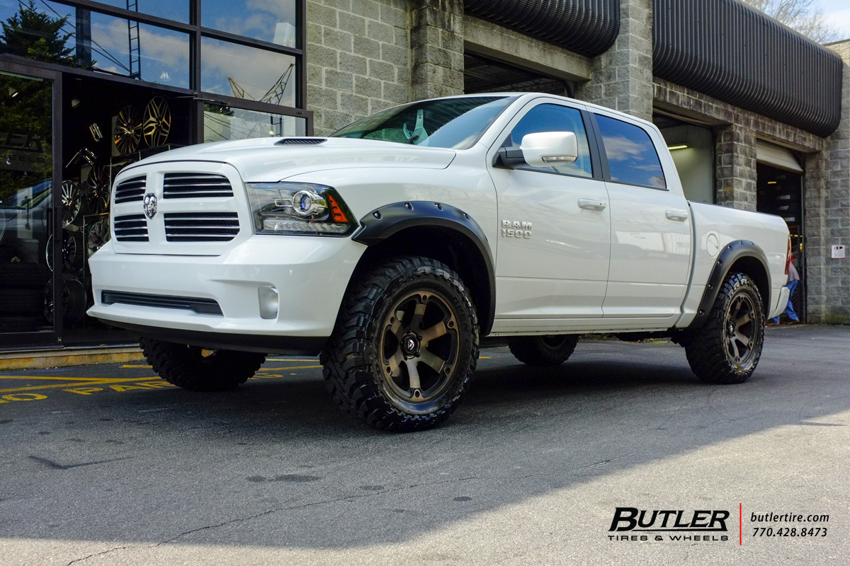 Dodge Ram With 20in Fuel Beast Wheels Exclusively From