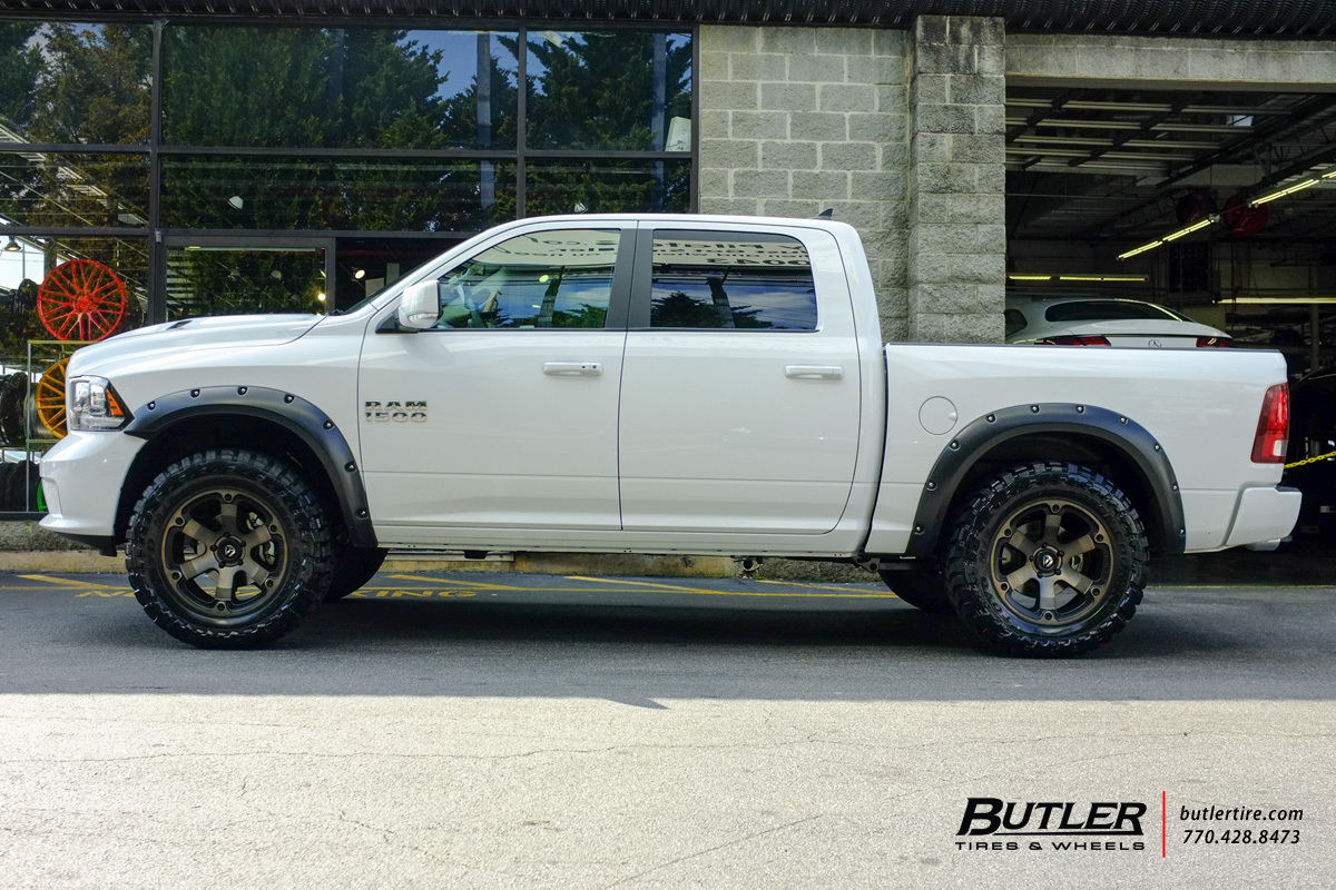 Dodge Ram 1500 Wheels And Tires Packages >> Dodge Ram With 20in Fuel Beast Wheels Exclusively From