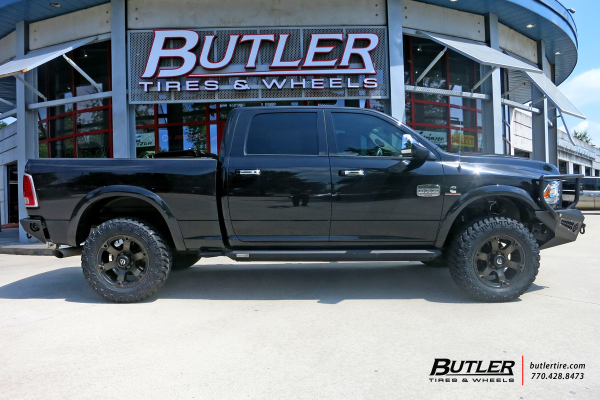 Dodge Ram with 20in Fuel Beast Wheels