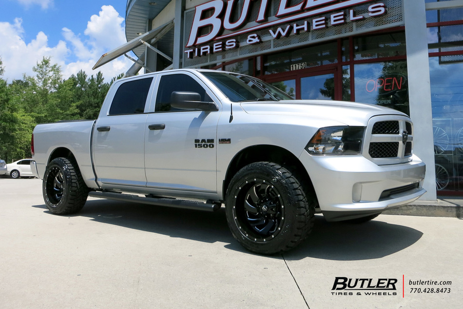 Ram 2500 Fuel Maverick >> Dodge Ram with 20in Fuel Cleaver Wheels exclusively from Butler Tires and Wheels in Atlanta, GA ...