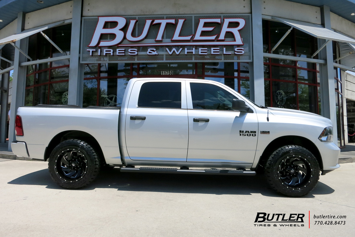 Dodge Ram with 20in Fuel Cleaver Wheels