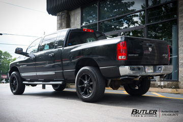 Dodge Ram with 20in Fuel Coupler Wheels