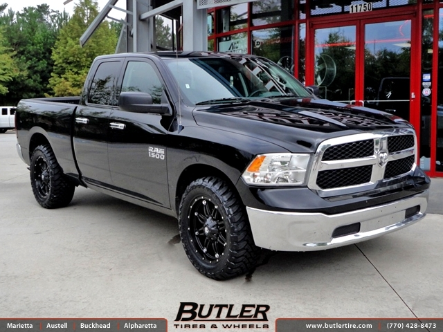 Dodge Ram with 20in Fuel Hostage Wheels