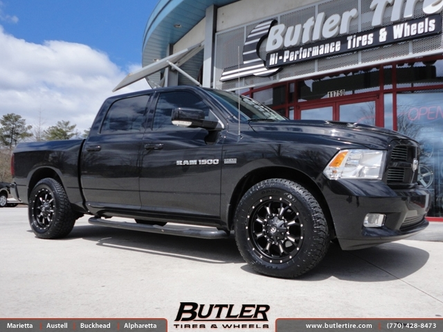 Dodge Ram with 20in Fuel Krank Wheels