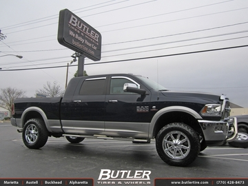 Dodge Ram with 20in Fuel Maverick Wheels