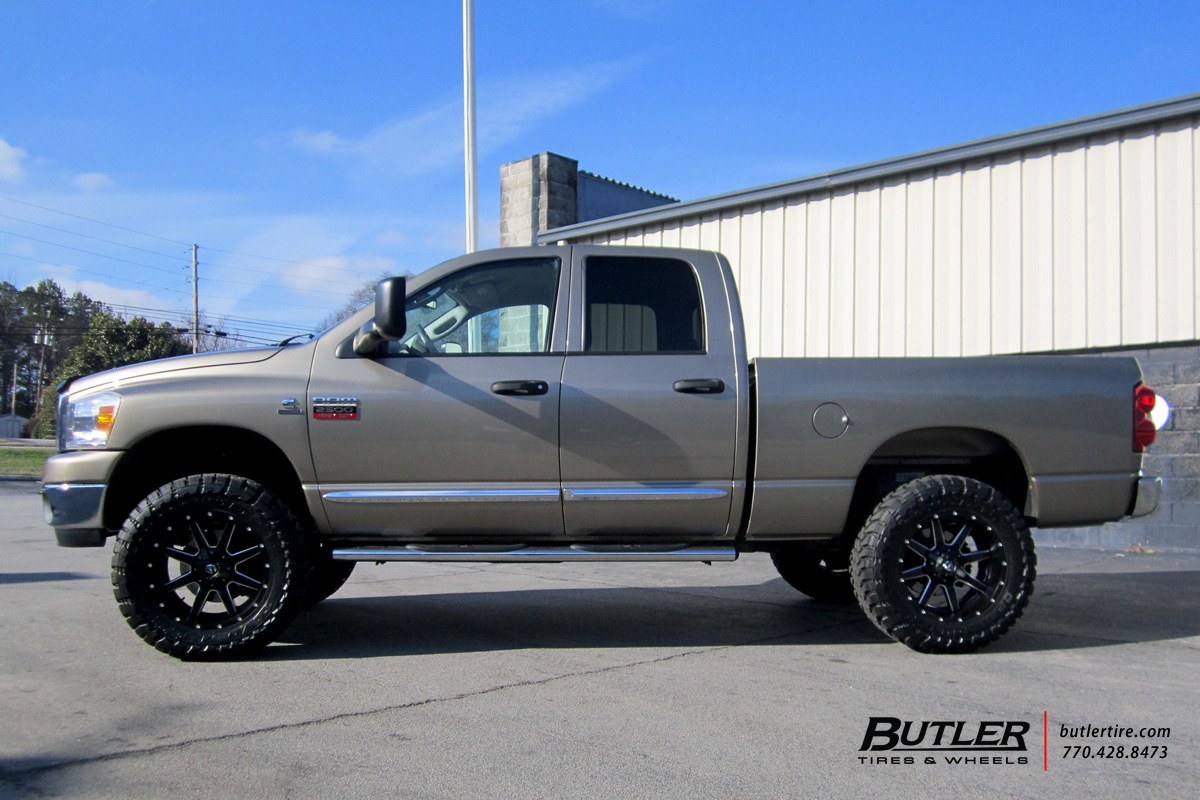 Dodge Ram With 20in Fuel Maverick Wheels Exclusively From