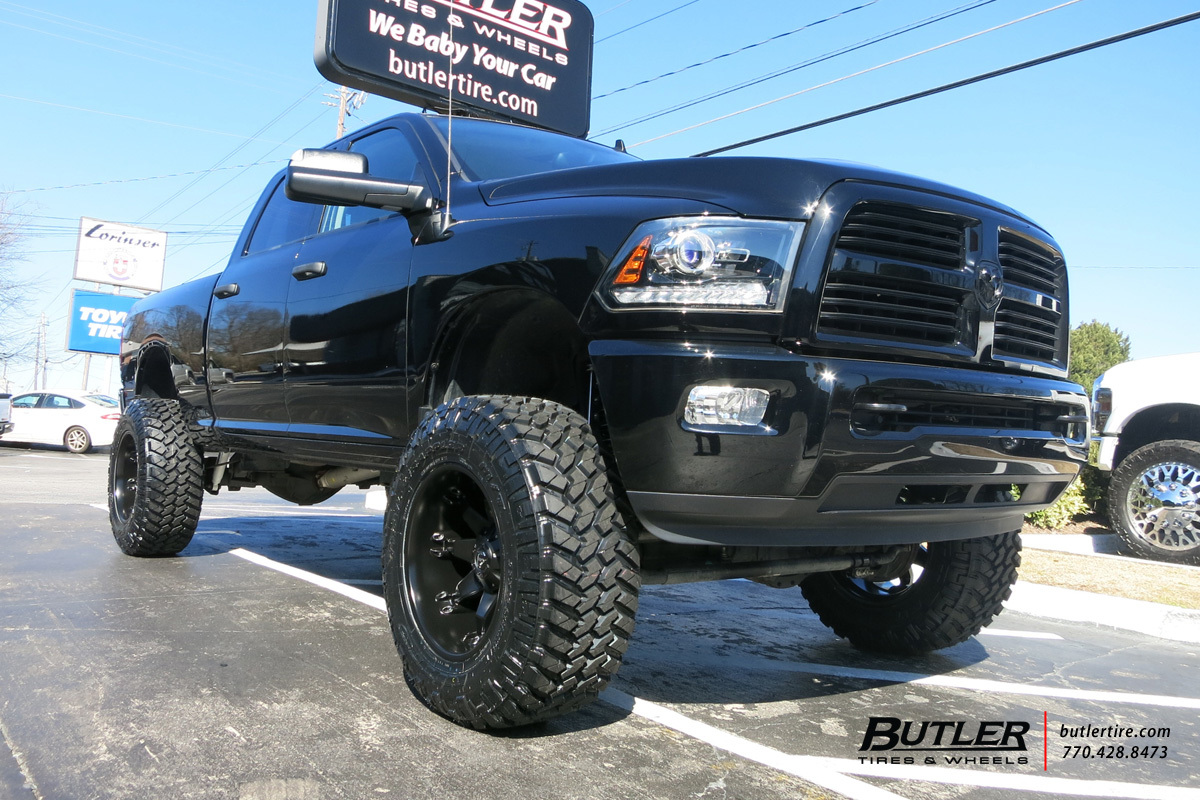 Dodge Ram With 20in Fuel Octane Wheels Exclusively From