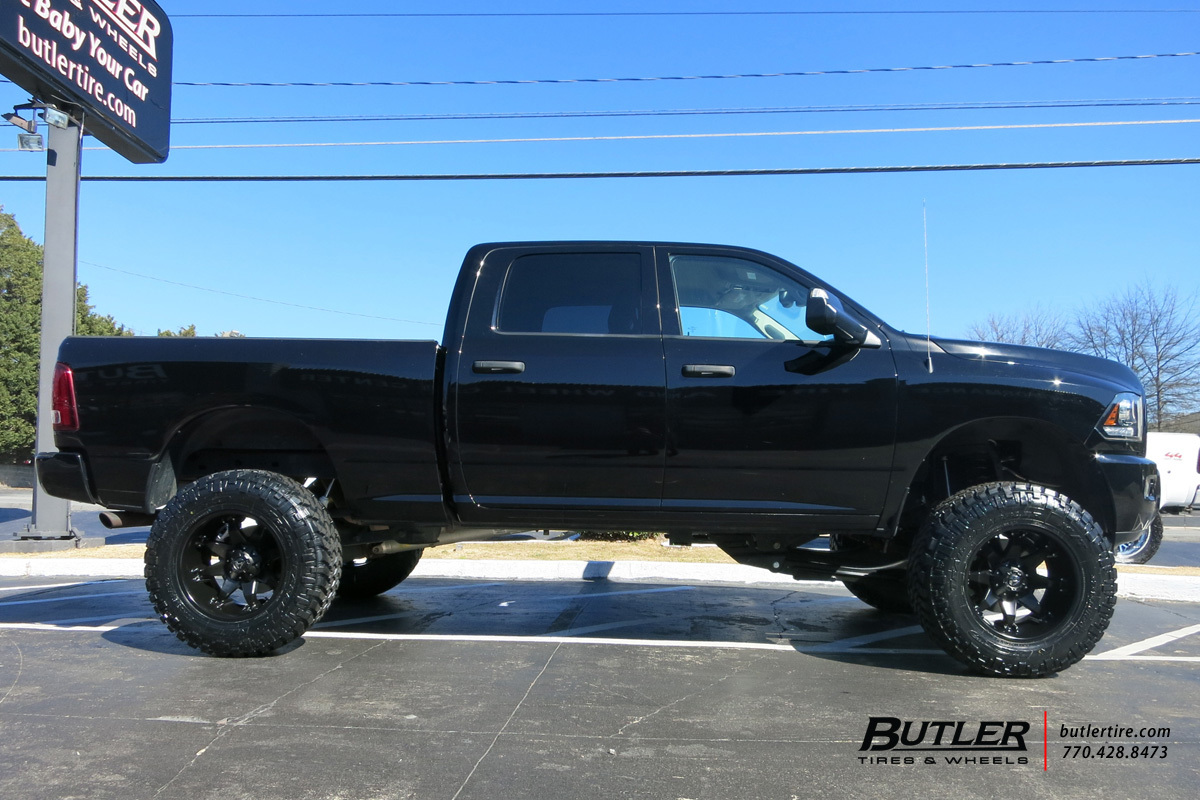 Dodge Ram with 20in Fuel Octane Wheels