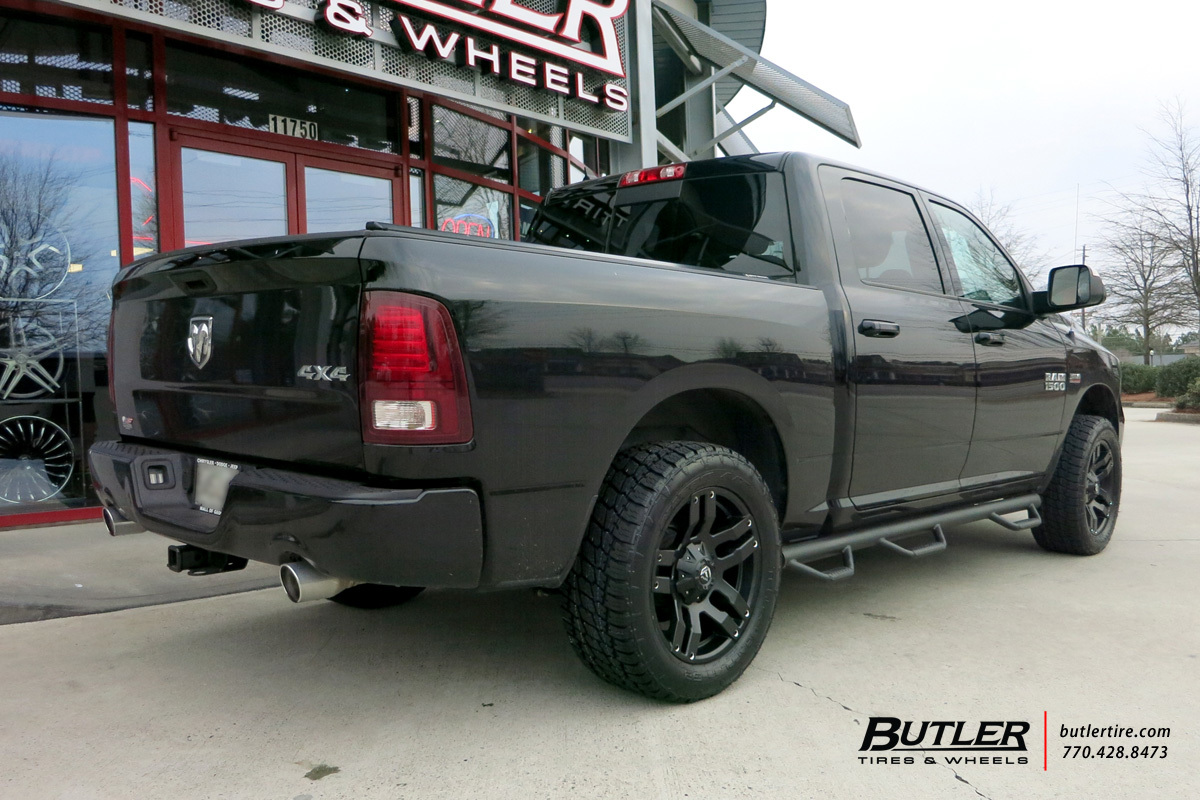 Dodge Ram with 20in Fuel Pump Wheels