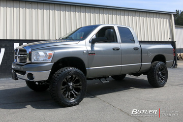 Dodge Ram with 20in Fuel Vapor Wheels