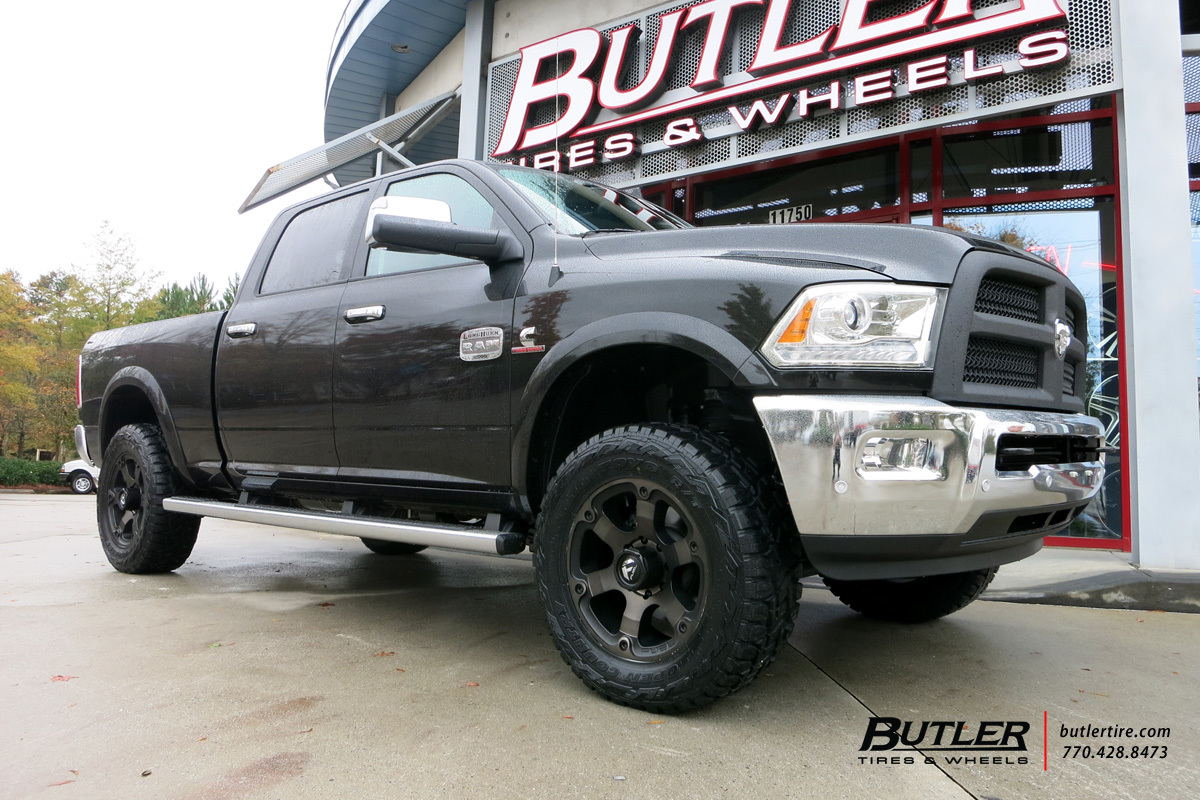 Dodge Ram With 20in Fuel Vapor Wheels Exclusively From