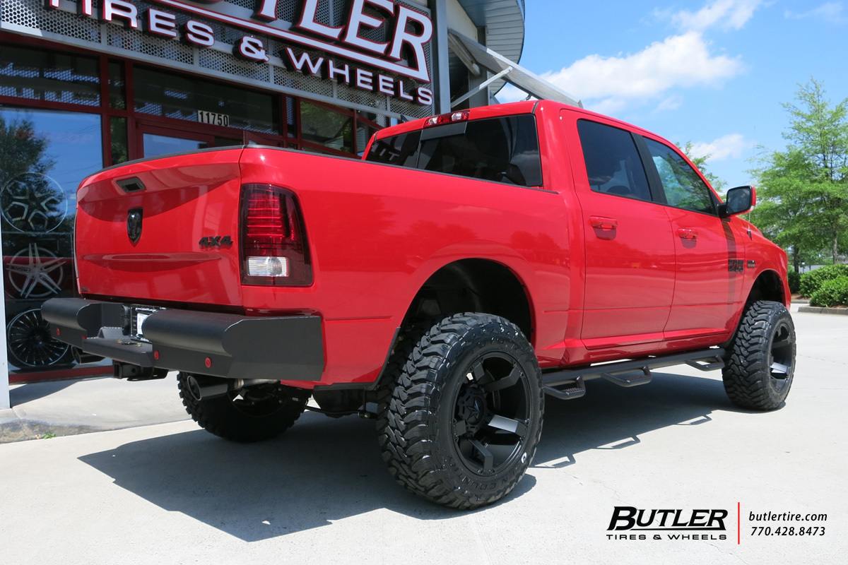 Dodge Ram With 20in Xd Rockstar Ii Wheels Exclusively From
