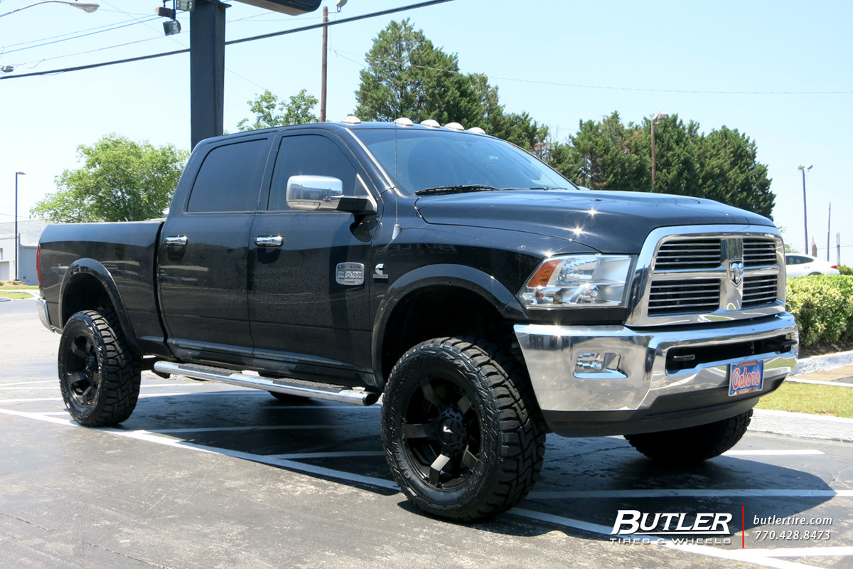 Dodge Ram with 20in XD Rockstar II Wheels exclusively from ...