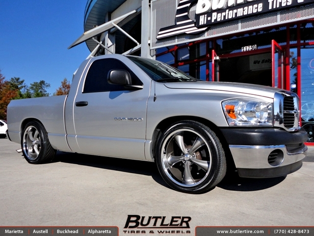 Dodge Ram with 22in Boss 338 Wheels