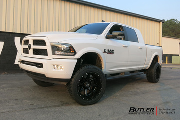 Dodge Ram with 22in Fuel Rampage Wheels