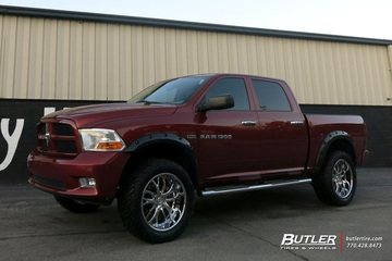 Dodge Ram with 22in Lexani LF113 Wheels