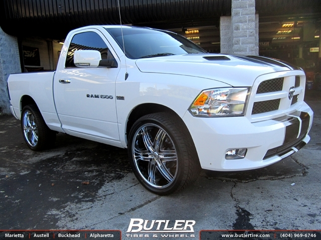 Dodge Ram with 24in Lexani Advocate Wheels