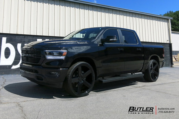 Dodge Ram with 26in DUB Baller Wheels