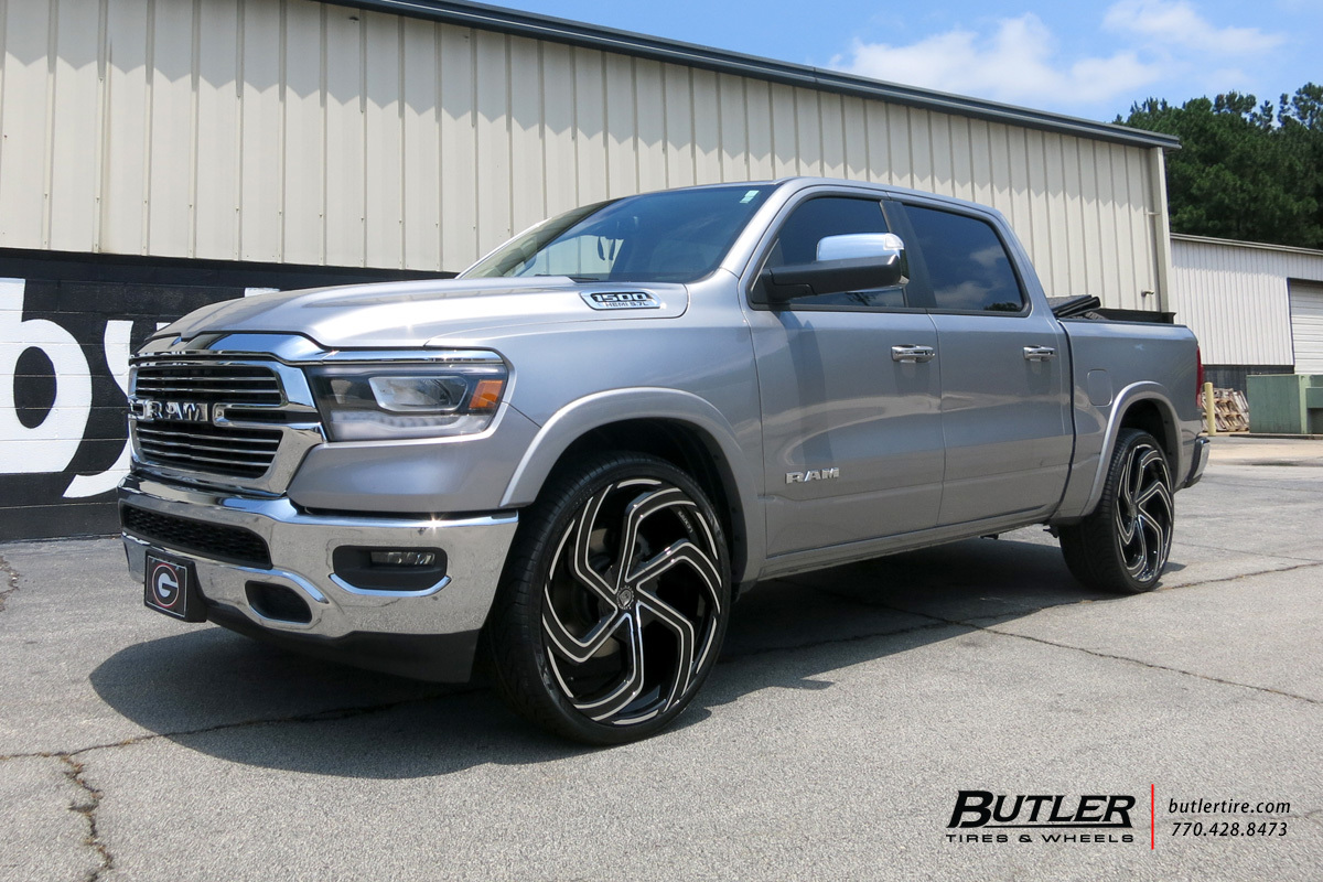 Dodge Ram with 26in Lexani Swift Wheels