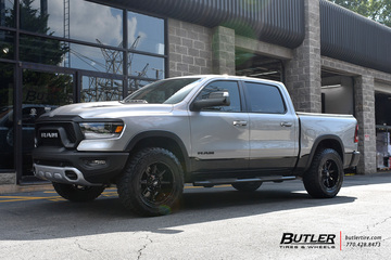 Dodge Ram Rebel with 20in Fuel Coupler Wheels