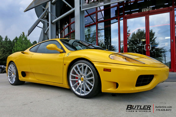 Ferrari 360 Modena with 20in Savini BM9 Wheels