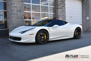Ferrari 458 Italia with 21in Formula FCS-103 Wheels