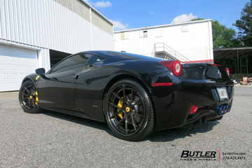 Ferrari 458 Italia with 22in Savini BM14-L Wheels