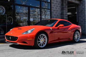 Ferrari California with 20in Avant Garde M621 Wheels