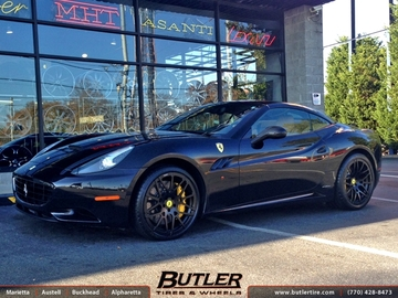 Ferrari California with 20in Forgiato Maglia Mono Block Wheels
