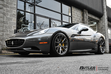 Ferrari California with 20in Vossen VPS-306 Wheels